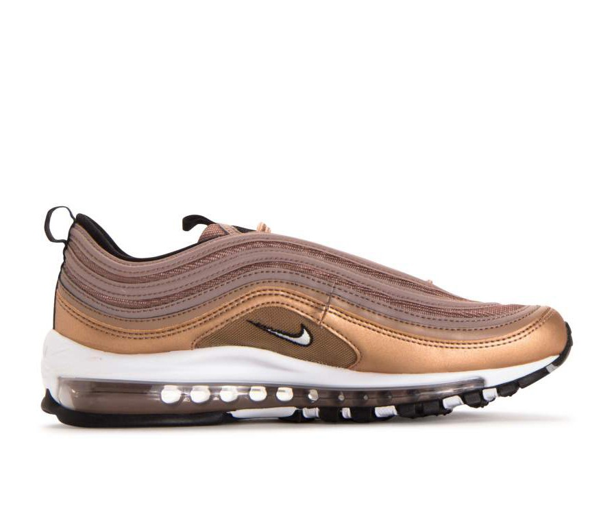921826-200 Nike Air Max 97 - Desert Dust/Bianche-Metallic Rosse Bronze