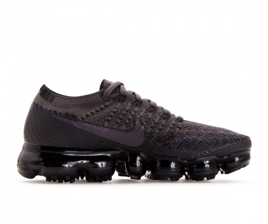 849557-009 Nike Donne Air Vapormax Flyknit - Midnight Fog/Multi-Color-Nere