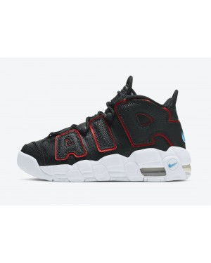 DJ4610-001 Nike Air More Uptempo GS - Nere/Bianche-Rosse
