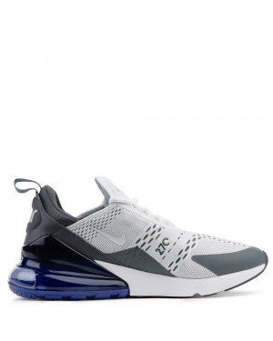 AH8050-107 Nike Uomo Air Max 270 Scarpe - Bianche/Bianche-Persian Violet
