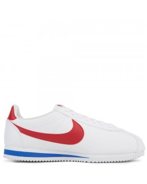 749571-154 Nike Classic Cortez Leather - Bianche/Rosse-Varsity Royal