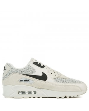 537384-074 Nike Air Max 90 Essential - Light Bone/Nere-Pure Platinum