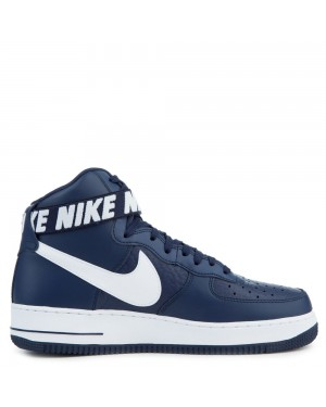 315121-414 Nike Air Force 1 High '07 Scarpe - Blu/Bianche