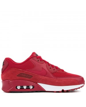 537384-604 Nike Air Max 90 Essential - Gym Rosse/Gym Rosse-Nere-Bianche