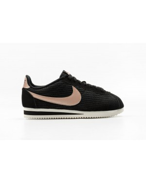 Nike Donne Classic Cortez Leather Lux Nere/Bronze Rosse Bronze-Sail 861660-002