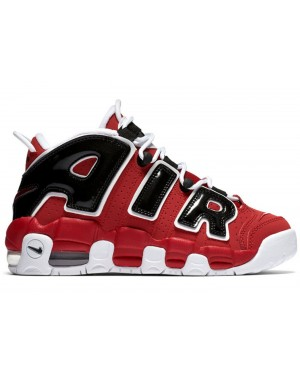Nike Air More Uptempo GS Rosse/Bianche-Nere 415082-600