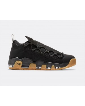 AJ2998-004 Nike Air More Money Scarpe - Nere/Nere-Marroni