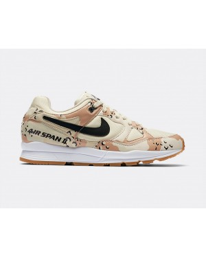 AO1546-200 Nike Air Span II Premium - Beach/Nere-Praline-Light Cream