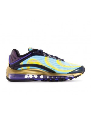 AQ1272-400 Nike Donne Air Max Deluxe - Midnight Navy/Arancioni