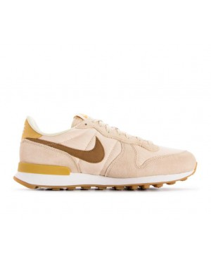 828407-209 Nike Donne Internationalist Scarpe - Beige/Marroni/Gialle