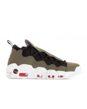 AJ2998-200 Nike Air More Money Scarpe - Olive/Nere-Rosse