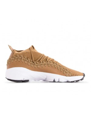 AO5417-200 Nike Air Footscape Woven NM Flyknit - Golden Beige/Beige-Nere-Bianche