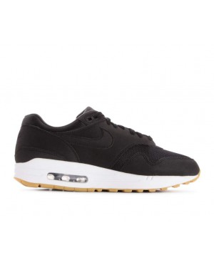 319986-037 Nike Donne Air Max 1 - Nere/Nere-Marroni