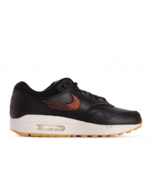 454746-020 Nike Donne Air Max 1 Premium - Nere/Nere-Gialle-Bianche
