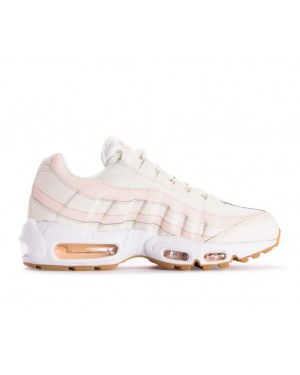 307960-111 Nike Donne Air Max 95 Scarpe - Sail/Guava Ice-Marroni