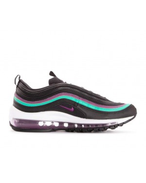 921733-008 Nike Donne Air Max 97 - Nere/Viola-Clear Emerald