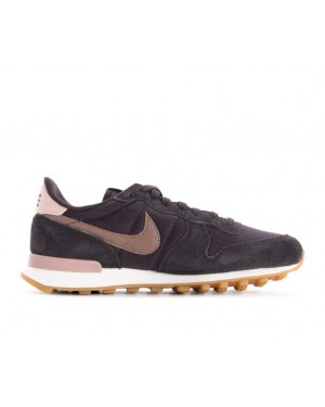wholesale dealer 226d3 83b1d 828407-024 Nike Donne Internationalist Scarpe - Grigio Marroni-Bianche ...