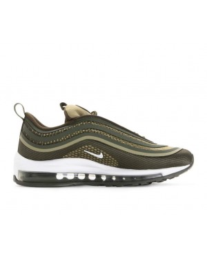 917998-300 Nike Air Max 97 Ultra '17 GS - Cargo Khaki/Bianche-River Rock