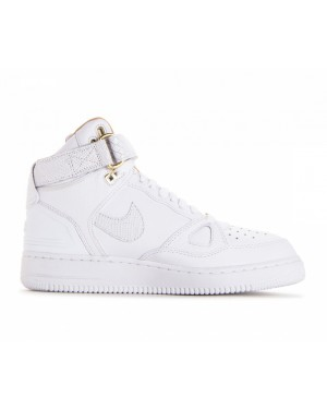 AO1074-100 Nike Air Force 1 Hi Just Don Scarpe - Bianche/Bianche-Bianche