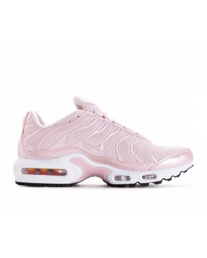 848891-601 Nike Donne Air Max Plus Premium Scarpe - Barely Rose/Rosa