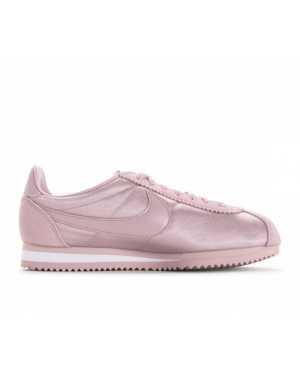 749864-607 Nike Donne Classic Cortez Nylon - Particle Rose/Particle Rose/Bianche