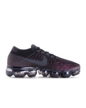 849557-007 Nike Donne Air Vapormax Flyknit - Nere/Anthracite/Vintage Wine