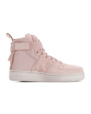 AA3966-201 Nike Donne Sf Air Force 1 Mid - Beige/Beige