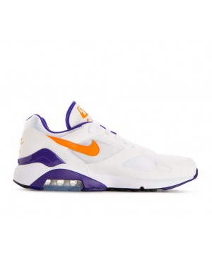 615287-101 Nike Air Max 180 Scarpe - Bianche/Bright/Ceramic/Dark Concord