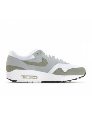 319986-105 Nike Donne Air Max 1 - Bianche/Dark Stucco/Light Pumice-Nere