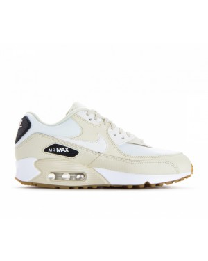 325213-207 Nike Donne Air Max 90 - Fossil/Sail-Nere-Marroni